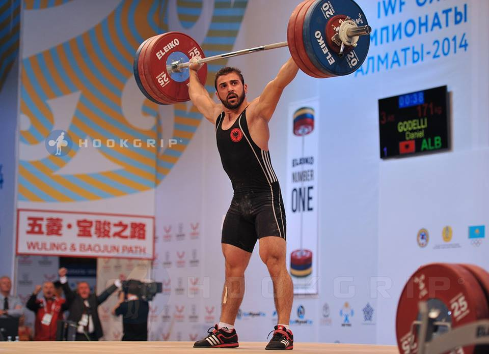 Weightlifting albania