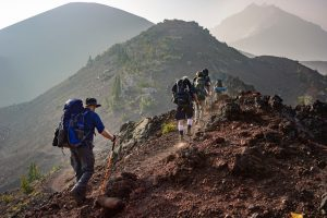 mountaineering albania