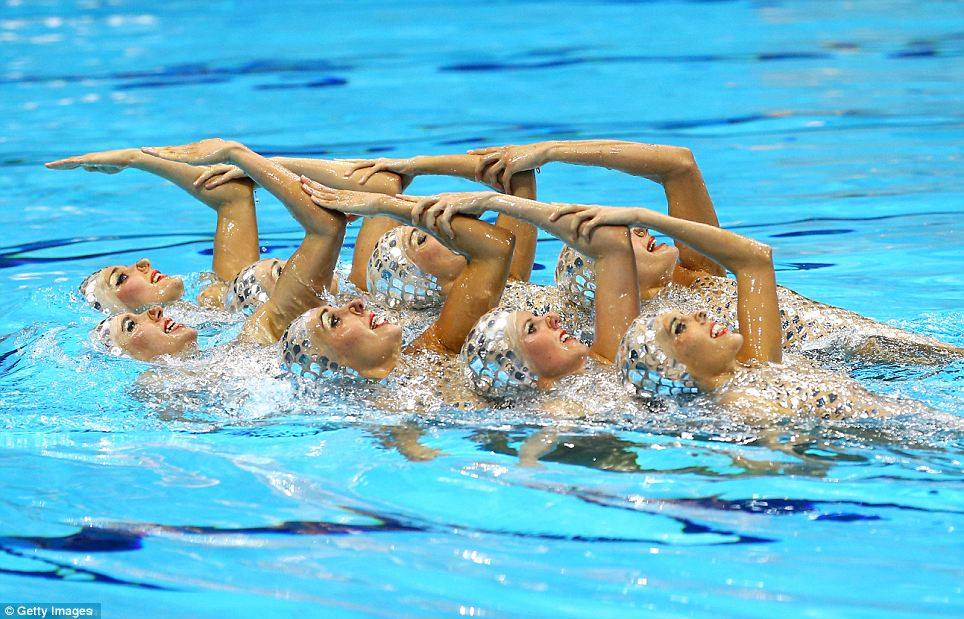 artistic swimming albania