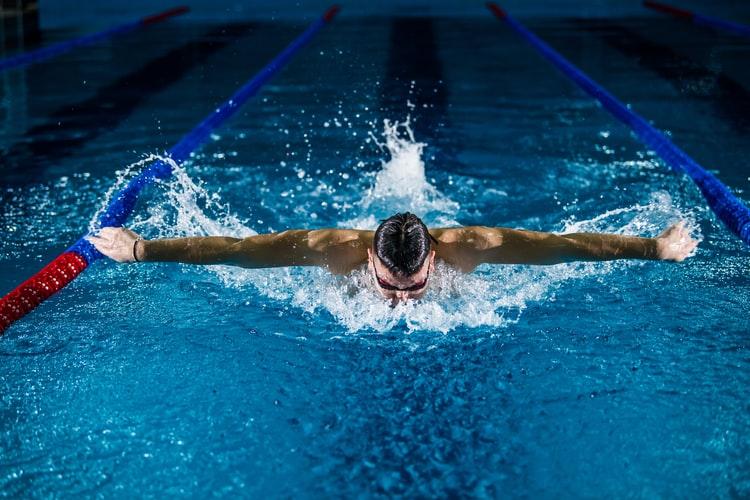 swimming albania