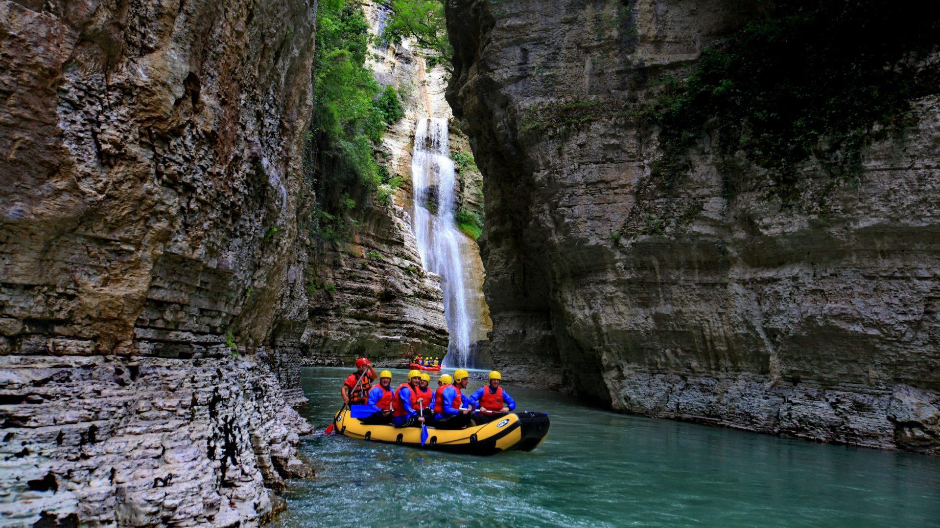 rafting albania